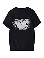 cheap -Inspired by Naruto Pain Cosplay Costume T-shirt Microfiber Graphic Prints Printing T-shirt For Men's / Women's
