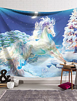 cheap -Wall Tapestry Art Decor Blanket Curtain Hanging Home Bedroom Living Room Decoration Polyester White Unicorn Tree