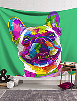 cheap -Wall Tapestry Art Decor Blanket Curtain Hanging Home Bedroom Living Room Decoration Polyester Color French Bulldog
