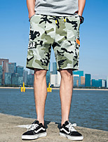 cheap -Men's Hiking Shorts Hiking Cargo Shorts Camo Outdoor Breathable Multi-Pockets Wear Resistance Scratch Resistant Shorts Army Green Blue Khaki Hunting Fishing Climbing M L XL XXL XXXL