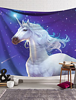 cheap -Wall Tapestry Art Decor Blanket Curtain Hanging Home Bedroom Living Room Decoration Polyester Unicorn Starry Sky