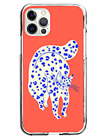 cheap -Animal Case For Apple iPhone 12 iPhone 11 iPhone 12 Pro Max Unique Design Protective Case Shockproof Pattern Back Cover TPU