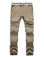 cheap -Women's Hiking Pants Trousers Convertible Pants / Zip Off Pants Solid Color Summer Outdoor Lightweight Windproof Breathable Quick Dry Bottoms Army Green Khaki Hunting Fishing Climbing S M L XL XXL