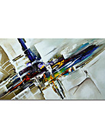 cheap -100% Hand Painted Abstract Canvas Oil Paintings Modern Art Abstract Stretched Abstract Artwork Ready to Hang