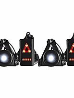 cheap -Laufende Nachtlampe, Wasserdichter Außensport USB-Ladung Joggen Brustlicht 3 Beleuchtungsmodi mit Abnehmbarem Befestigungsband (2 Pack)