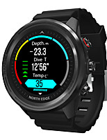 cheap -NORTH EDGE Range5 Men's Smartwatch Bluetooth Waterproof Touch Screen GPS Heart Rate Monitor Thermometer Pedometer Call Reminder Sleep Tracker Sedentary Reminder Alarm Clock