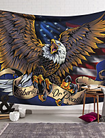 cheap -Wall Tapestry Art Decor Blanket Curtain Hanging Home Bedroom Living Room Decoration Polyester Eagle Catch Something American Flag