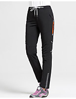 cheap -Women's Hiking Pants Trousers Patchwork Outdoor Lightweight Windproof Breathable Quick Dry Bottoms Black Burgundy Grey Dark Navy Hunting Fishing Climbing S M L XL XXL