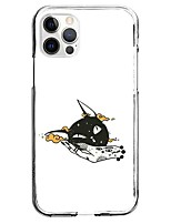 cheap -Cartoon Animal Case For Apple iPhone 12 iPhone 11 iPhone 12 Pro Max Unique Design Protective Case Pattern Back Cover TPU