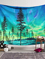 cheap -Wall Tapestry Art Decor Blanket Curtain Hanging Home Bedroom Living Room Decoration Polyester Forest Starry Sky