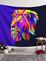 cheap -Wall Tapestry Art Decor Blanket Curtain Hanging Home Bedroom Living Room Decoration Polyester Lion Colored Vector