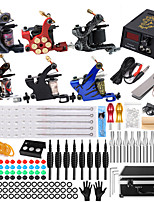 cheap -Coil Tattoo Machine Set Six Machine Full Set of Tattoo Equipment Professional Tattoo Machine Tattoo Set