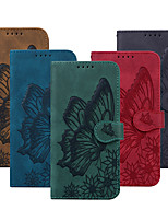 cheap -Embossed PU Leather Case for iPhone 11 12 Pro Max Magnetic Full Body Protective Cover Coque For iPhone XS Max XR X 7 8 PLUS SE 2020