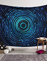 cheap -Wall Tapestry Art Decor Blanket Curtain Hanging Home Bedroom Living Room Decoration Polyester Blue Space Rotation