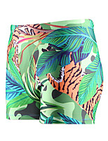 cheap -Men's Swim Shorts Swim Trunks Spandex Board Shorts Breathable Quick Dry Drawstring - Swimming Surfing Water Sports Camo / Camouflage Summer / Plus Size