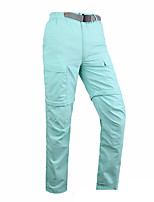cheap -Women's Hiking Pants Trousers Convertible Pants / Zip Off Pants Solid Color Summer Outdoor Lightweight Breathable Comfort Quick Dry Bottoms Army Green Blue Khaki Hunting Fishing Climbing S M L XL XXL