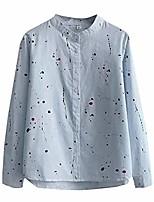 cheap -Women's Hiking Jacket Hiking Shirt / Button Down Shirts Long Sleeve Shirt Coat Top Outdoor Quick Dry Lightweight Breathable Sweat wicking Autumn / Fall Spring White Blue Hunting Fishing Climbing