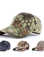 cheap -Men's Women's Breathability Comfortable Sun Protection Camo Spring, Fall, Winter, Summer Terylene Hunting Fishing Camping / Hiking / Caving Everyday Use Jungle camouflage Black Camouflage Brown