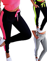 cheap -Women's Sweatpants Jogger Pants Elastic Waistband Drawstring Color Block Sport Athleisure Pants / Trousers Pants Top Bottoms Breathable Soft Comfortable Plus Size Everyday Use Casual Daily Outdoor