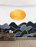 cheap -Wall Tapestry Art Decor Blanket Curtain Hanging Home Bedroom Living Room Decoration and Landscape and Mountain and Modern