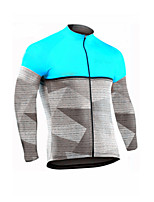 cheap -Men's Long Sleeve Downhill Jersey Yellow Red Green Bike Jersey Sports Clothing Apparel