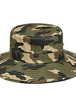 cheap -Men's Women's Breathability Comfortable Sun Protection Camo Spring, Fall, Winter, Summer Terylene Hunting Fishing Camping / Hiking / Caving Everyday Use Camouflage Green