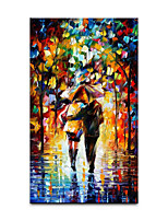 cheap -Oil Painting Handmade Hand Painted Wall Art Home Decoration Decor Rolled Canvas No Frame Unstretched Abstract 3D Knife Painted Landscapes