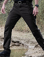 cheap -Men's Tactical Pants Hiking Pants Trousers Hiking Cargo Pants  Water Repellent Ripstop Cargo Pants Lightweight EDC Hiking Work Pants Outdoor Apparel