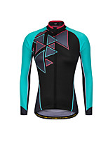 cheap -Men's Long Sleeve Downhill Jersey Black / Red Black / Blue Bike Jersey Sports Clothing Apparel