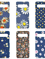 cheap -Floral Case For Samsung S20 Ultra S10+ Note 20 10 S7 edge/S8/S8plus/S9/S9plus Shockproof/Dustproof Back Cover Oxford cloth PC Case for Samsung S20plus S20FE