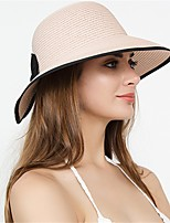 cheap -Cute Plastic+PCB+Water Resistant Epoxy Cover Hats with Bowknot 1 Piece Tea Party Headpiece