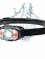 cheap -headlamp led rechargeable usb headlamp headlamp zoomable waterproof adjustable mini headlamps with red light and intelligent gesture sensor for jogging, running, camping, cycling, fishing, children