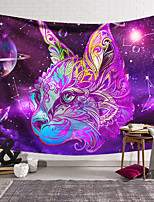cheap -Wall Tapestry Art Decor Blanket Curtain Hanging Home Bedroom Living Room Decoration Polyester Color Cat Head