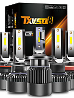 cheap -TXVSO8 Car LED Headlamps Light Bulbs 15000 lm 100 W 2 For universal All years 2pcs