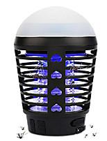 cheap -Insektenvernichter Elektrisch Outdoor, 2-In-1 Mückenlampe Campinglampe USB Wiederaufladbar Moskito Killer Licht Bug Zapper UV Insektenfalle mit Haken IP67 Wasserdichter Tragbare (schwarz)