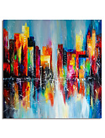 cheap -Handmade Hand Painted Square Oil Painting Canvas PaintingWall Art Home Decoration Decor Stretched Frame Ready to Hang