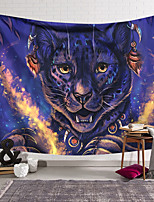 cheap -Wall Tapestry Art Decor Blanket Curtain Hanging Home Bedroom Living Room Decoration Polyester Cute Tiger