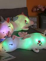 cheap -Glowing Unicorn Stuffed Animals Cute Plush Toys Christmas Gift