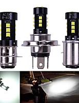cheap -Car led Motorcycle Headlight H4 P15D BA20D COB 3030 15SMD Hi/Low Bulb All-In-One Lamp Motor Headlamp Motor Styling DC12v White
