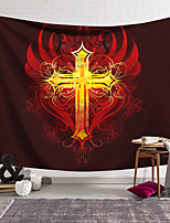 cheap -Wall Tapestry Art Decor Blanket Curtain Hanging Home Bedroom Living Room Decoration Polyester Crossfire