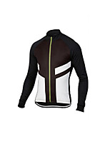 cheap -Men's Long Sleeve Downhill Jersey Black / Red Black+White Black / Blue Bike Jersey Sports Clothing Apparel