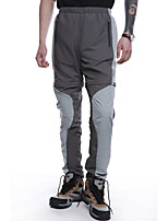 cheap -Men's Hiking Pants Trousers Convertible Pants / Zip Off Pants Patchwork Outdoor Windproof Breathable Quick Dry Stretchy Bottoms Army Green Grey Khaki Hunting Fishing Climbing S M L XL XXL