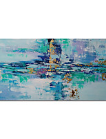 cheap -Oil Painting Handmade Abstract Painting Hand Painted Wall Art Home Decoration Stretched Frame Ready to Hang