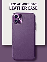 cheap -Leather Phone Case For iPhone 11 12 Pro Max Soft Protector PU Leather Back Cover For iPhone XS Max XR X 7 8 PLUS SE 2020