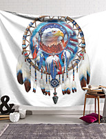 cheap -Wall Tapestry Art Decor Blanket Curtain Hanging Home Bedroom Living Room Decoration Polyester Dream Catcher Eagle Head