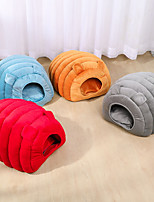 cheap -Dog Cat Dog Beds Cat Beds Dog Bed Mat Shell Warm Multi layer Soft Elastic For Indoor Use Plush Fabric for Large Medium Small Dogs and Cats