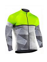 cheap -Men's Long Sleeve Downhill Jersey Red Gold Green Bike Jersey Sports Clothing Apparel