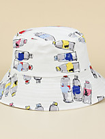 cheap -Adults' Sun Hat Bucket Hat Packable Quick Dry Breathable Spring, Fall, Winter, Summer Cotton Hat for Athleisure Fishing Camping & Hiking / Cartoon