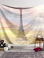 cheap -Wall Tapestry Art Decor Blanket Curtain Hanging Home Bedroom Living Room Decoration Polyester Eiffel Tower Paris Landscape Painting