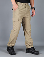 cheap -Men's Hiking Pants Trousers Hiking Cargo Pants Solid Color Outdoor Windproof Breathable Quick Dry Stretchy Bottoms Black Grey Khaki Green Hunting Fishing Climbing S M L XL XXL